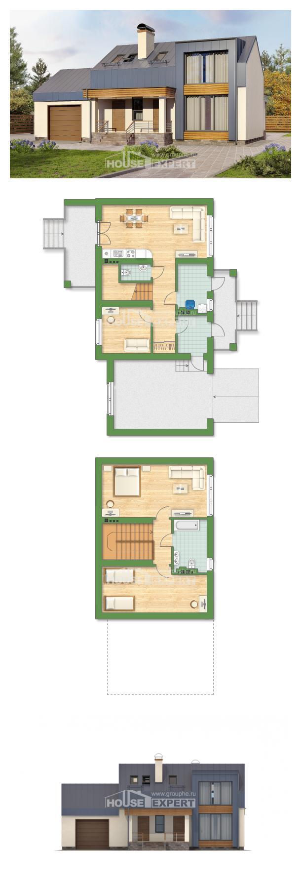 Проект дома 150-015-П | House Expert