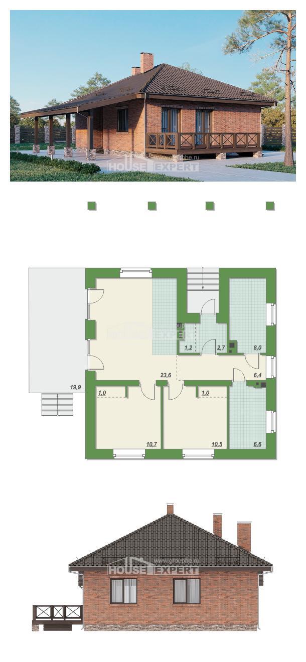 Проект дома 070-006-Л | House Expert